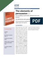 PDF Los Elementos Del a Persuasion