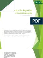 Lineamientos de Seguridad en Anestesiologia