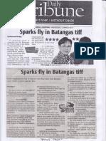 Daily Tribune, Mar. 13, 2019, Sparks fly in Batangas tiff.pdf