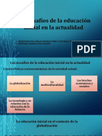 Los Desafios de La Educacion Inicial en La Actualidad