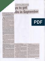 Manila Bulletin, Mar. 13, 2019, 6 M Pinoys to get national IDs in September.pdf