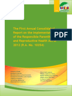 Annual Consolidated Report on RPRH Implementation 05142015.pdf