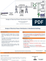 Design of Electrical Power Distribution in Residential Buildings