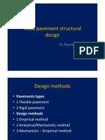 Lecture 2 (b). Flexible Pavement Design