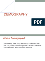 Demography Lecture