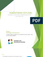 Humanitarian Outlook SEAHUM