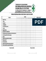 8.4.4.2 Form Penilaian Kelengkapan Rekam Medis