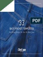 33 Back Pocket Topstitching Designs Closet Case Patterns