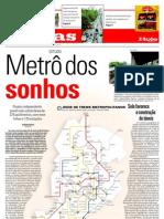 Metro Jornal Hoje Em Dia 20100118