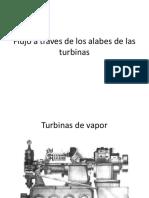 Flujo a Traves de Los Alabes de Las Turbinas