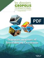 Sciences marines et littorales en Occitanie, Dossier Agropolis International, numéro 24, février 2019