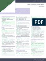 Begginer's Python Cheat Sheet-dataquest