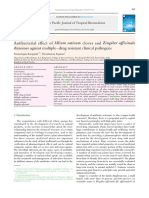 3.Antibacterial Effect of Allium Sativum Cloves and Zingiber Officinale