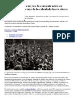 Franco Creó 300 Campos de Concentración en España