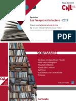 Les Français et la lecture 2019