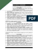 AREA CIENCIA Y TECNOLOGÍA-competencias y Capacidades