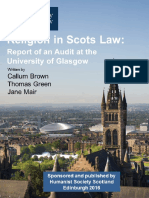 Religion in Scots Law Final Report 22 Feb 16