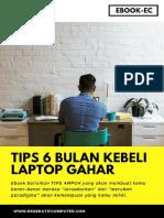 Tips 6 Bulan Kebeli Laptop GAHAR