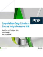presentation_10821_ES10821 - Composite Beam Design Extension in Robot Structural Analysis Profressional 2016 PPT.pdf