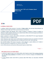 Delibera 348 Modem Libero Istruzioni Per Il TOF Febbraio 2019
