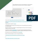 UI5 Signatures