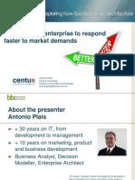 Modelling the Enterprise to Respond Faster to Market_v2