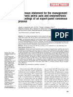 Consensus Statement for the Management of Chronic Pelvic Pain