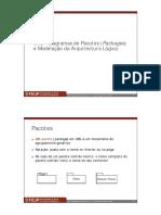 UML - exemplos de uso de pacotes