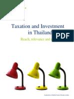 Thai Tax details