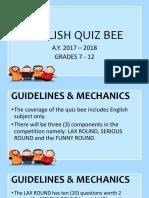 jsh quiz bee