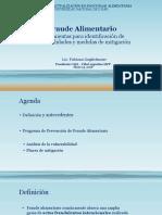 Fraude Alimentario - UNL 2018 FG PDF