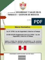 PRIMERA CAPACITACION  GESTION DE RIESGOS