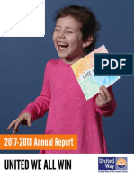 United Way of the Coastal Bend Annual Report, 2017-2018