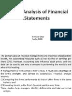 Financia Statement Analysis