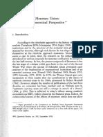 Mundell- Uncommon Arguments 1973