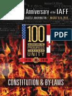 IAFF International Constitution