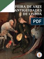 Feira de Arte e Antiguidades 2015, 2016, 2017 catalogue pages