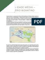 Alta Idade Média - Império Bizantino.docx