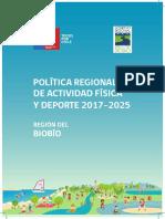 8. Política Regional de Actividad Física y Deporte Biobío.pdf