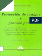 Protección de Testigos y Proceso Penal