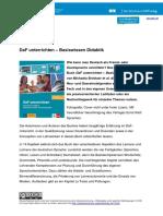 BV DaF Unterrichten Basiswissen Didaktik