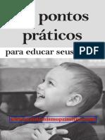 25 Pontos Practicos Para Educar Seus Filhos