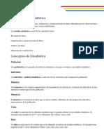 Resumen Estadística - P1