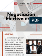 Curso Negociación Efectiva en 3D