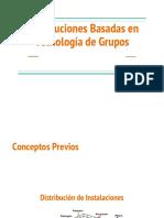 Distribuciones basadas en Tecnología de Grupos