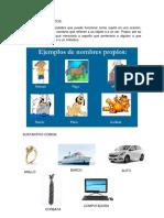 CLASES DE SUSTANTIVOS CON IMAGENES.docx