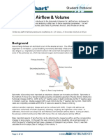 Respiratory Airflow & Volume Student Protocol Revised