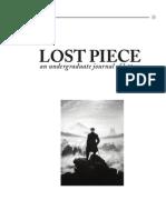 Lost Piece-  Beauty or Beast?