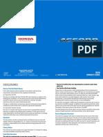 Honda Accord 2019 User Manual.PDF