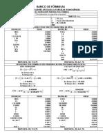 Banco de Fórmulas-taxas Equivalentes
